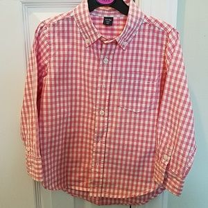 Boys Gap pink dress shirt, 4 years.